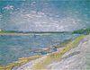Van Gogh - Flußlandschaft mit Ruderbooten am Ufer.jpeg
