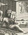 Van Leeuwenhoekmicroscoop op prent veiling.jpg