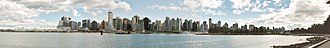 Coal Harbour - Image: Vancouver Skyline