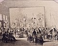 Vasily Timm Exhibition of The Apparition of the Messiah in the Antic Hall of the Academy of Arts Saint Petersburg 1858.jpg