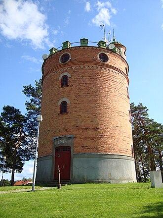Kungsör - Image: Vattentornet i Kungsör