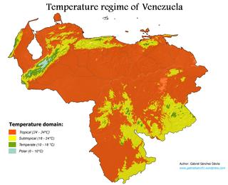 Climate of Venezuela