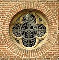 Venrath, Kirche St. Valentin, Turmfenster.JPG