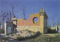 Vereshchagin-Ruins-of-the-Theater-in-Chuguchak