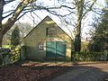 Vicarage garage at Bolam - geograph.org.uk - 685214.jpg
