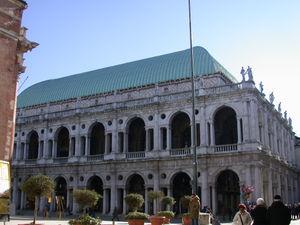 The Basilica Palladiana.