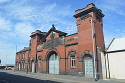 Victoria Road Drill Hall - College Road - geograph.org.uk - 3935335.jpg
