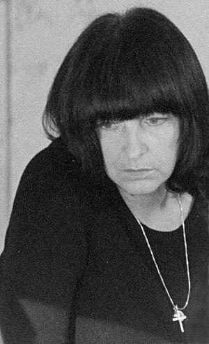 Friederike Mayröcker - Friederike Mayröcker, Vienna, 1974
