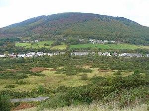 Cwmafan - Image: View across Cwm Afan geograph.org.uk 1006130