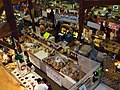 View from second floor of the main floor of the food building at the St. Jacobs Farmers Market.jpg