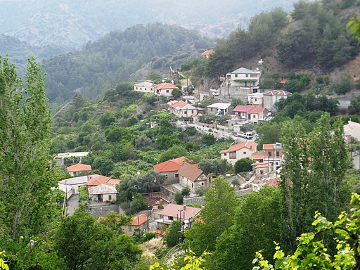 View of Agios Dimitrios, Cyprus 15