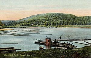 Claremont, New Hampshire - Ashley's Ferry c. 1906