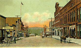 Farmington, Maine - Image: View of Broadway, Farmington, ME