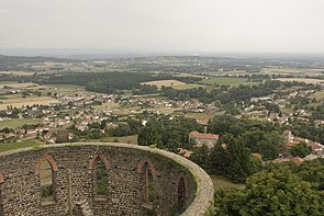 View of Marcilly-le-Châtel from the Sainte-Anne castle (2).jpg