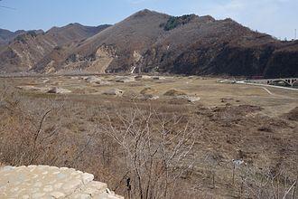 Ji'an, Jilin - Image: View of Shan Cheng Xia Nobility Cemetery