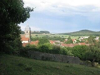Graffigny-Chemin Commune in Grand Est, France