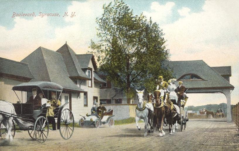 View of the Boulevard, Syracuse, NY