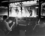 View of the Combat Information Center aboard USS Harry E. Yarnell (DLG-17) 1967.jpg
