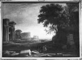 View of the Forum Romanum - Nationalmuseum - 17835.tif