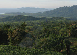 Magapit Protected Landscape - Image: View of the northeast coast of Luzon from the foothills of Mt. Cagua Zoo Keys 266 001 g 005
