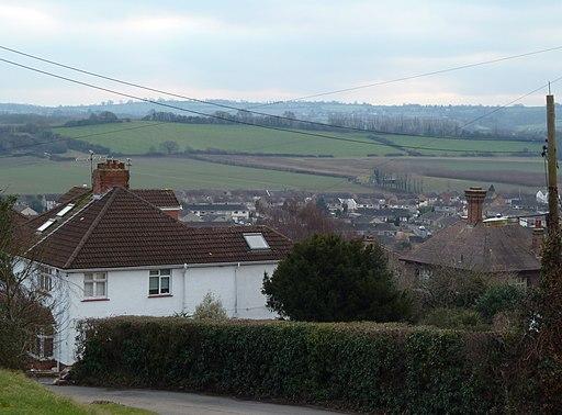 View over Long Ashton from Providence Lane - geograph.org.uk - 2252458
