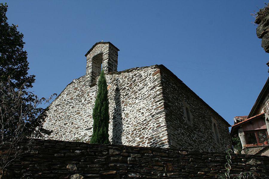 Lamalou-les-Bains - Hérault - église Notre-Dame de l'Assomption de Villecelle - chevet.