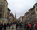 Villefranche-sur-Saône - Rue Nationale pour le Marathon du Beaujolais (nov 2018).jpg