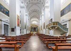Vilnius Cathedral - Cathedral interior