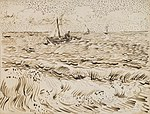 Vincent van Gogh - Fishing Boats at Saintes-Maries-de-la-Mer.jpg