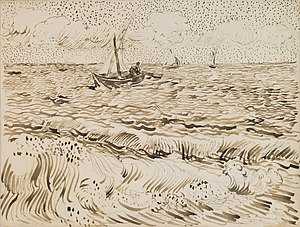 Saintes-Maries (Van Gogh series) - Image: Vincent van Gogh Fishing Boats at Saintes Maries de la Mer