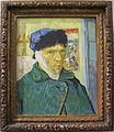 Vincent van gogh, autoritratto con un orecchio bendato, 1889, 01.JPG