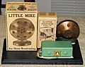 """Vintage """"Little Mike"""" for Home Broadcasting and """"Little Announcer"""" Radio Log (7720946220).jpg"""
