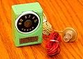 Vintage Arrow Germanium Crystal Radio, Made In Japan, Circa Late 1950s (48607710723).jpg