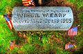 Virgil Earp - Headstone at River View Cemetery, Portland Oregon.jpg