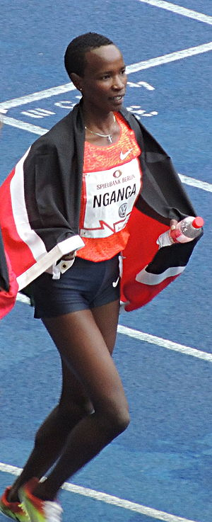 Virginia Nyambura Nganga - Image: Virginia Nyambura Nganga at ISTAF 2015