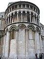Visión posterior de la Catedral de Pisa, Italia.JPG