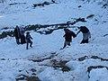 Visitors enjoying the snow in Murree 1.jpg