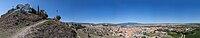Vista panorámica de Calatayud desde San Roque, Aragón, España, 2014-07-12, DD 11-15 PAN.jpg