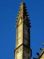 Vitré (35) Église Notre-Dame Façade sud 2ème pinacle.JPG