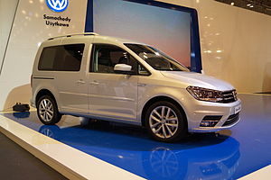 Volkswagen Caddy - Caddy Typ 2K with 2015 facelift