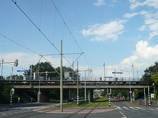 Voorburg t Loo RandstadRail station RandstadRail station and metro stop in The Hague