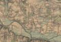 Vue générale, Les Fougerêts - Cartes d'État major.png