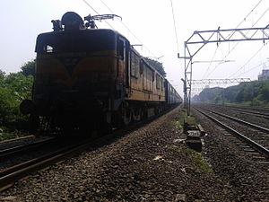 Indian locomotive class WCAM 1 - Image: WCAM 1 No. 21839