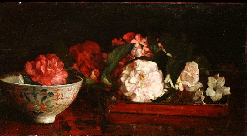 File:WLA brooklynmuseum John La Farge-Flowers on a Japanese Tray.jpg