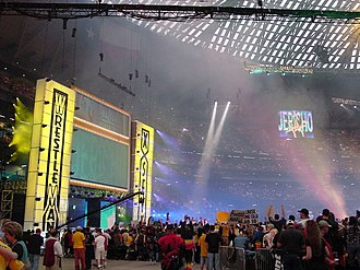 WrestleMania X-Seven - The WrestleMania X-Seven stage.