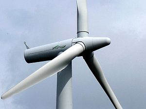 Energiekontor - Wind turbine of a German wind farm developed by Energiekontor