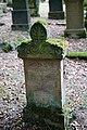 Waibstadt - Jüdischer Friedhof - Neuer Teil Reihe 7 - kleiner Grabstein nur Hebr mit Palmette 1.jpg