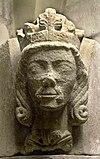 Waldemar of Sweden (1240s) bust 2009 Skara (2) .jpg