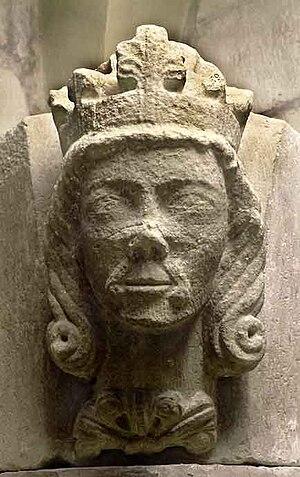 Valdemar, King of Sweden - King Valdemar in Skara Cathedral