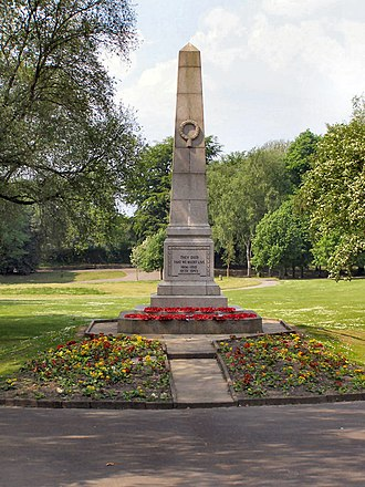 Walkden - Image: Walkden war memorial